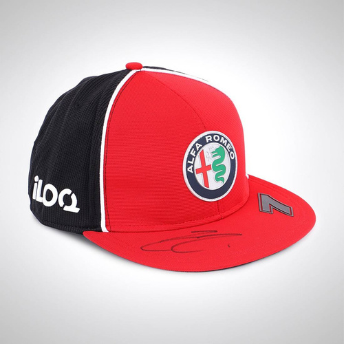 Photo of KIMI RAIKKONEN 2020 SIGNED TEAM CAP