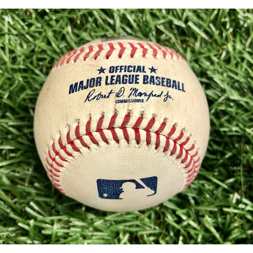 Photo of Rays Baseball Foundation: Game Used Home Run Baseball - Jose Martinez - July 27, 2020 v ATL