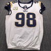 STS - Rams Connor Barwin Game Used Jersey (11/19/17) Size 46
