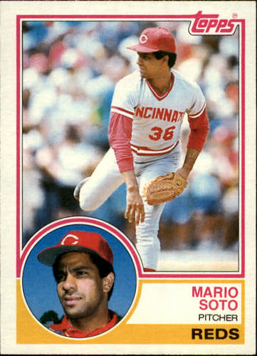 Photo of 1983 Topps #215 Mario Soto