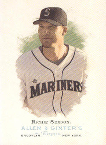 Photo of 2006 Topps Allen and Ginter #174 Richie Sexson