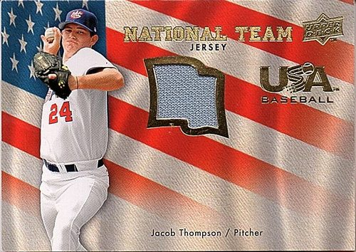 Photo of 2008 Upper Deck USA National Team Jersey #JT Jacob Thompson
