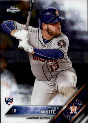 Photo of 2016 Topps Chrome #70 Tyler White Rookie Card