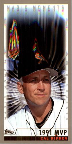 Photo of 2000 Topps #238B C.Ripken MM 1991 MVP