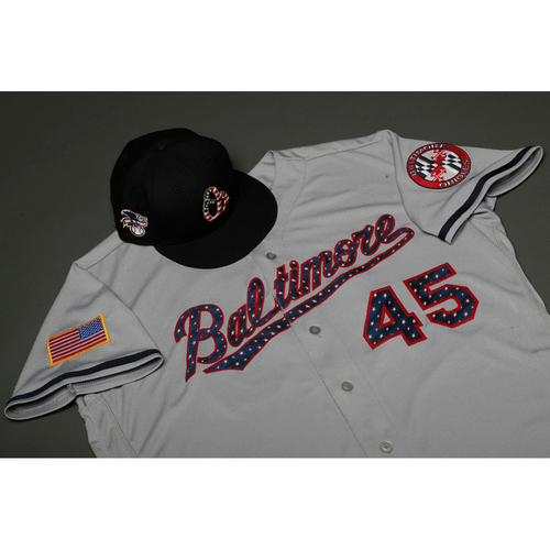 promo code 75961 24b46 Orioles Auctions | Trey Mancini Autographed, Game-Worn Stars ...