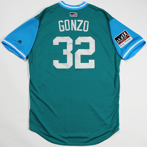"Photo of Marco ""Gonzo"" Gonzalez Seattle Mariners Game-Used Players' Weekend Jersey"
