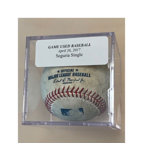 Photo of Game-Used Baseball: Jean Segura Single