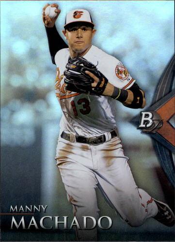 Photo of 2014 Bowman Platinum #11 Manny Machado