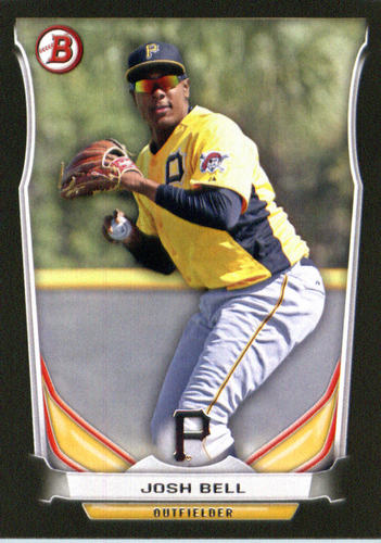Photo of 2014 Bowman Draft Top Prospects Asia Black #TP16 Josh Bell