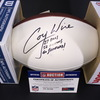 NFL -  Coy Wire Signed Panel Ball w/ multiple inscriptions