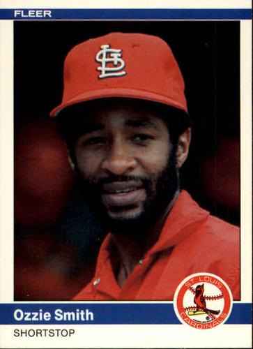 Photo of 1984 Fleer #336 Ozzie Smith