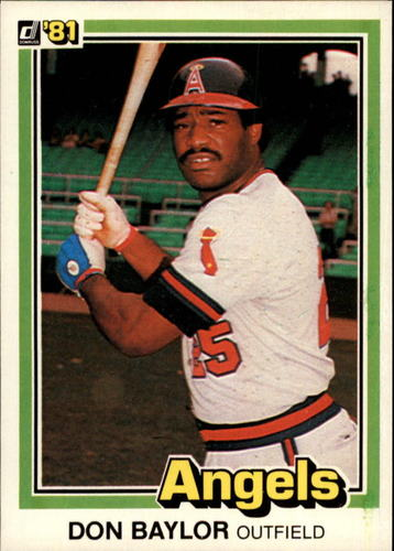 Photo of 1981 Donruss #413 Don Baylor