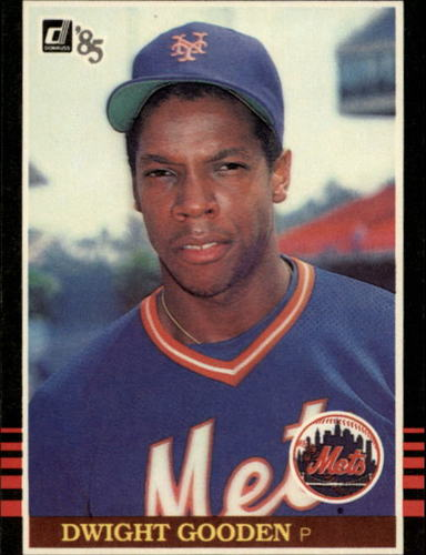 Photo of 1985 Donruss #190 Dwight Gooden RC