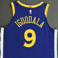 Andre Iguodala - Golden State Warriors - NBA China Games - Game-Worn Icon Edition Jersey - 2017-18 NBA Season