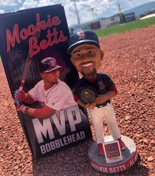 Photo of Mookie Betts MVP Bobblehead