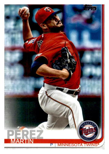 Photo of 2019 Topps Update #US222 Martin Perez
