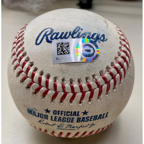 Photo of Game-Used Baseball: Eric Haase Detroit Tigers Single (MLB AUTHENTICATED)