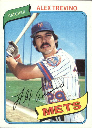 Photo of 1980 Topps #537 Alex Trevino RC