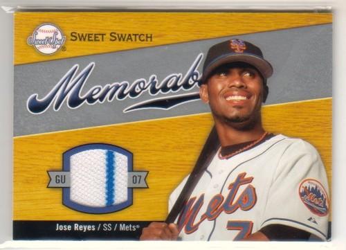 Photo of 2007 Sweet Spot Sweet Swatch Memorabilia #RE Jose Reyes