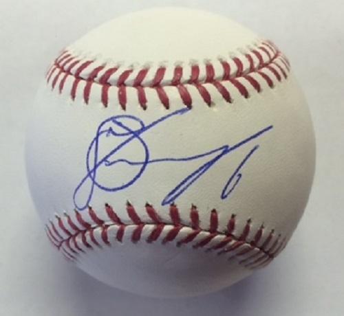 Jonathan Schoop Autographed Baseball