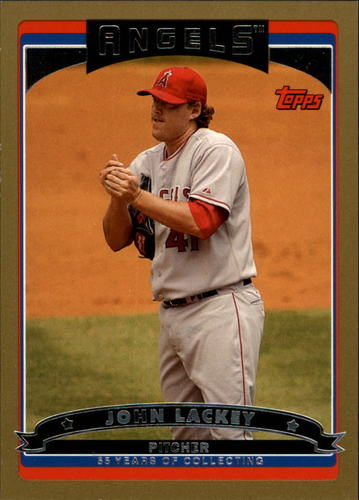 Photo of 2006 Topps Gold #352 John Lackey