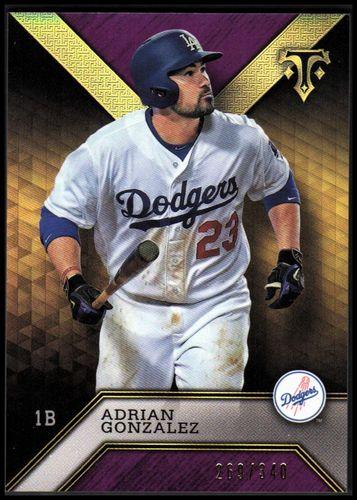 Photo of 2016 Topps Triple Threads Amethyst #71 Adrian Gonzalez
