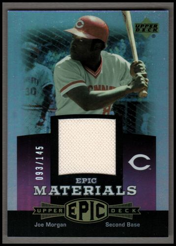 Photo of 2006 Upper Deck Epic Materials Light Purple #JO2 Joe Morgan Jsy/145