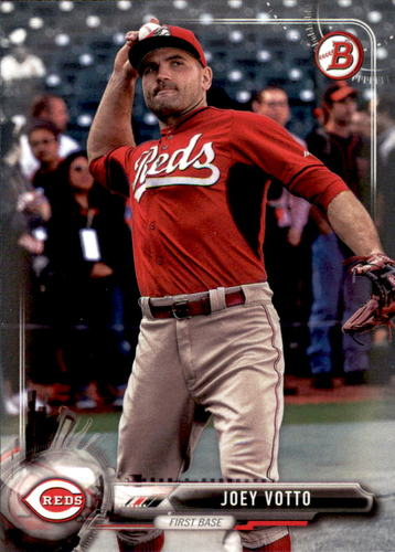 Photo of 2017 Bowman #16 Joey Votto