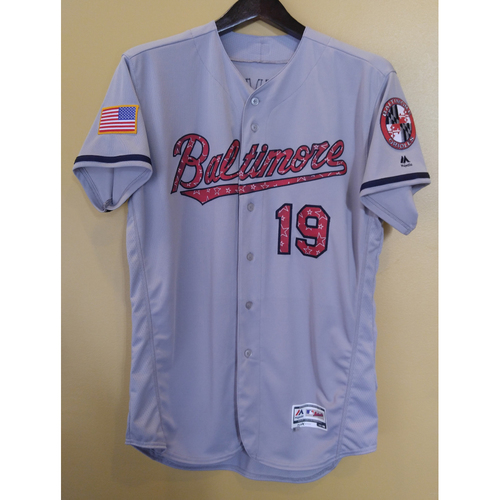 Chris Davis - 4th of July Jersey: Team-Issued