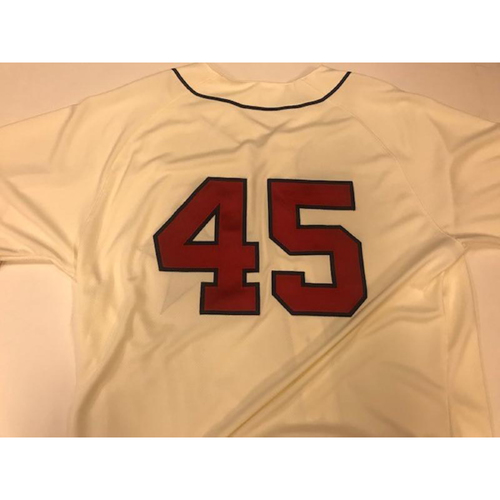 Photo of Game-Used Detroit Stars Jersey: Buck Farmer