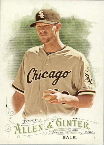 Photo of 2016 Topps Allen and Ginter #274 Chris Sale
