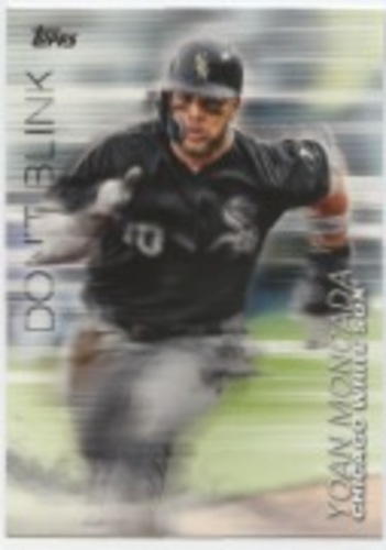 Photo of 2018 Topps Update Don't Blink #DB24 Yoan Moncada