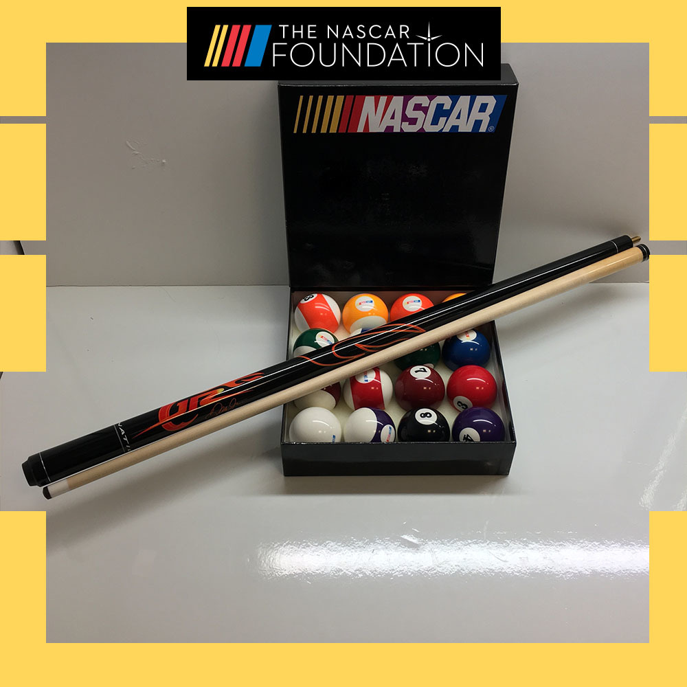 NASCAR Pool Ball Set and Dale Jr. Stick!