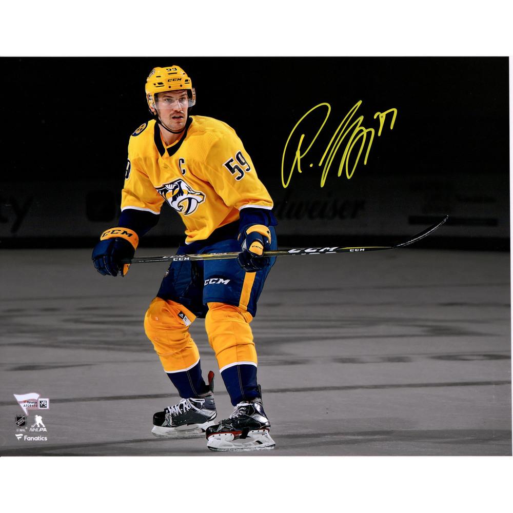 Roman Josi Nashville Predators Autographed 11