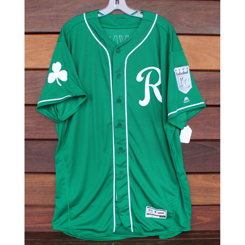 Team-Issued St. Patrick's Day Jersey: Brian Flynn (Size - 50)