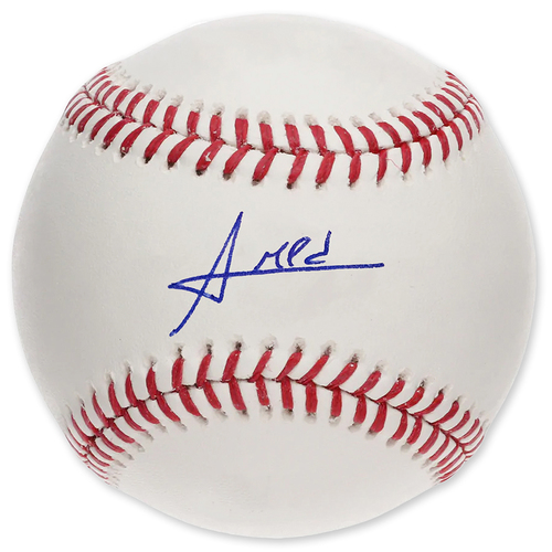Photo of Amed Rosario - Autographed Major League Baseball