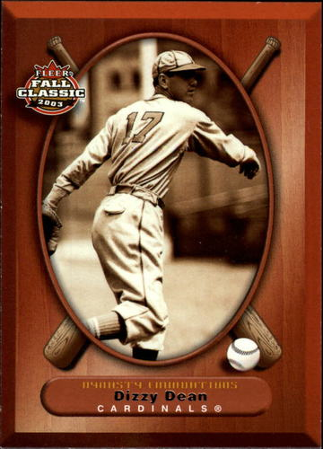 Photo of 2003 Fleer Fall Classics #64 Dizzy Dean