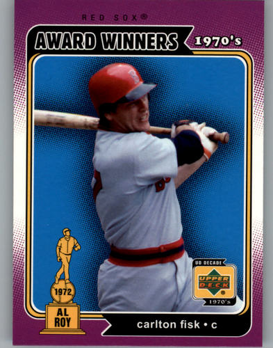 Photo of 2001 Upper Deck Decade 1970's #147 Carlton Fisk AW