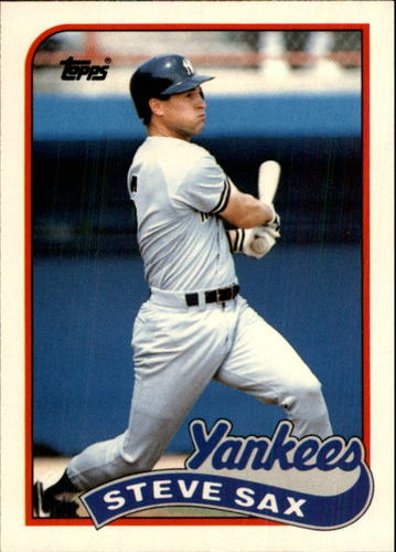 Photo of 1989 Topps Traded #111T Steve Sax