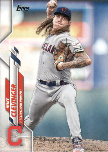 Photo of 2020 Topps #241 Mike Clevinger