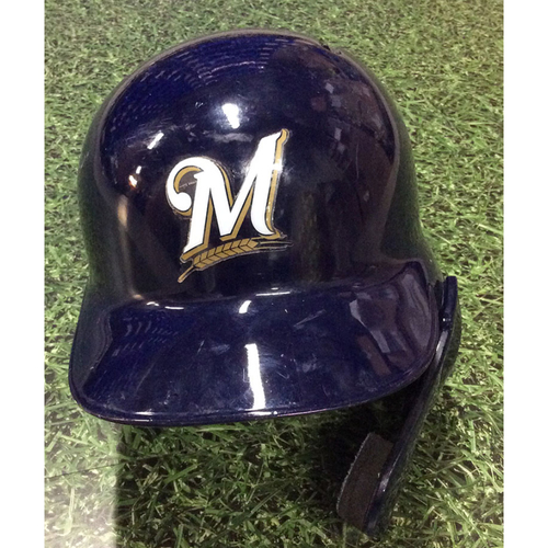Photo of Orlando Arcia 2019 Team-Issued Postseason Batting Helmet