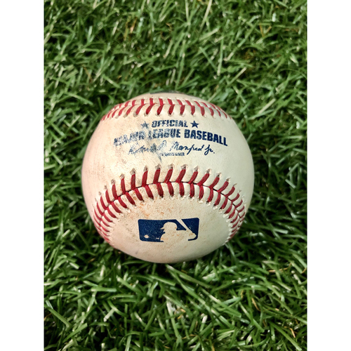 Photo of Game Used Baseball: Jake Waguespack MLB Debut and Third Career Strikeout - May 27, 2019 v TOR