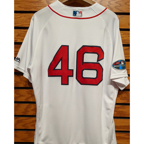 Photo of Craig Kimbrel #46 Game Used Home White Jersey