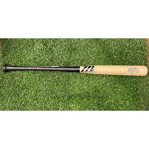 Photo of Minnesota Twins: Game-Used Broken Bat - Cincinnati Reds at Minnesota Twins - Lucas Sims to Nelson Cruz for ground out double play - Bottom 8 - September 27th, 2020
