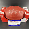 NFL - Packers Elgton Jenkins Signed Authentic Football