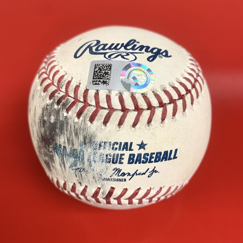 Game Used HOME RUN Baseball - Carson Kelly Two-Run Home Run Ball - Drives in Nick Ahmed and Pavin Smith - 9/22/2020 vs. TEX
