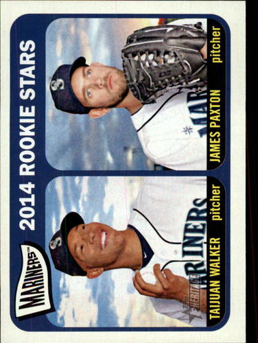 Photo of 2014 Topps Heritage #354 James Paxton RC/Taijuan Walker RC