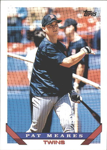 Photo of 1993 Topps Traded #98T Pat Meares RC