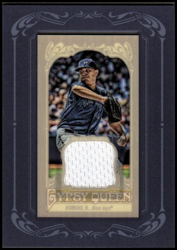 Photo of 2012 Topps Gypsy Queen Framed Mini Relics #RR Ricky Romero