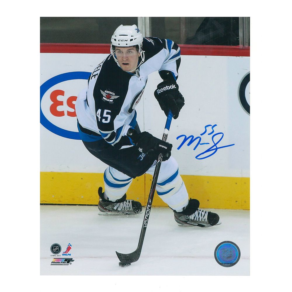 MARK SCHEIFELE Signed Winnipeg Jets 8 X 10 Photo - 70240